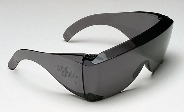 So Now I Can Wear Sungles Solar Shield Mirrorshades